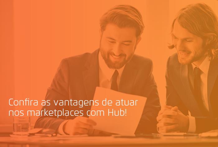 atuar nos marketplaces com Hub