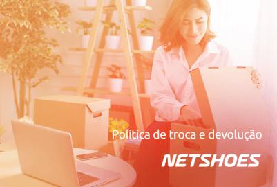 Troca e devolução na Netshoes