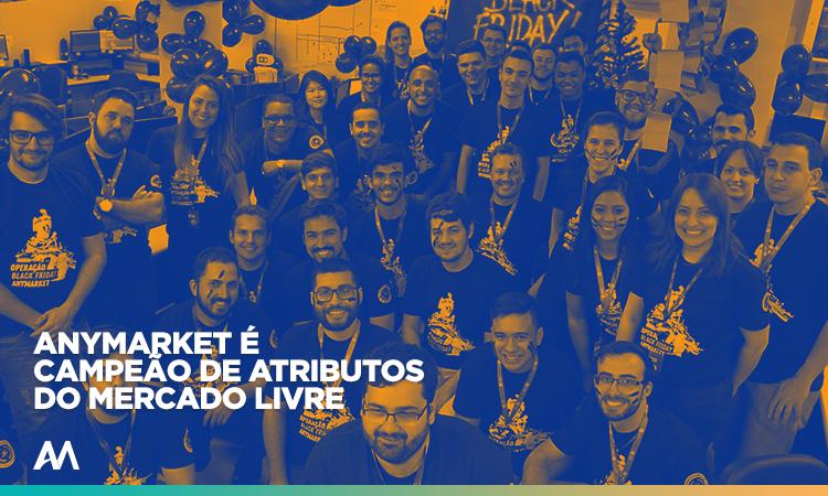 ANYMARKET hub de integração campeão em atributos do Mercado Livre