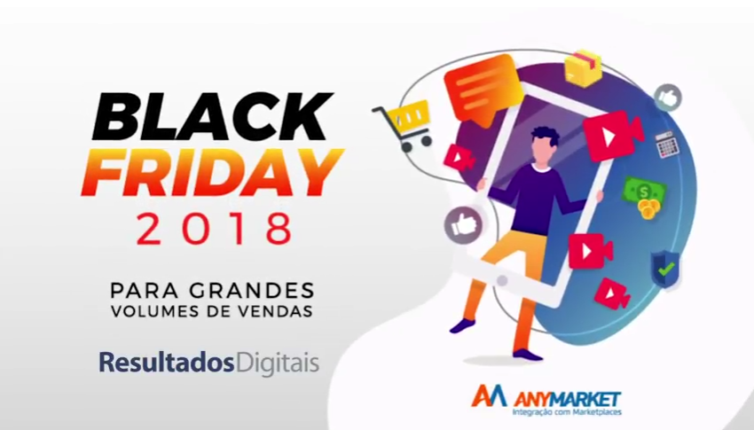 Black Friday ANYMARKET com Resultados Digitais