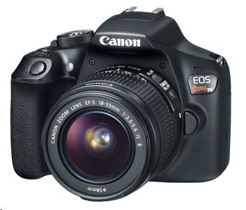 Câmera Canon Rebel T6 DSLR