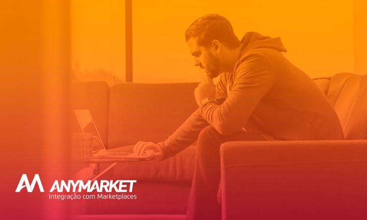 Seller decidindo sobre vender em marketplace ou não