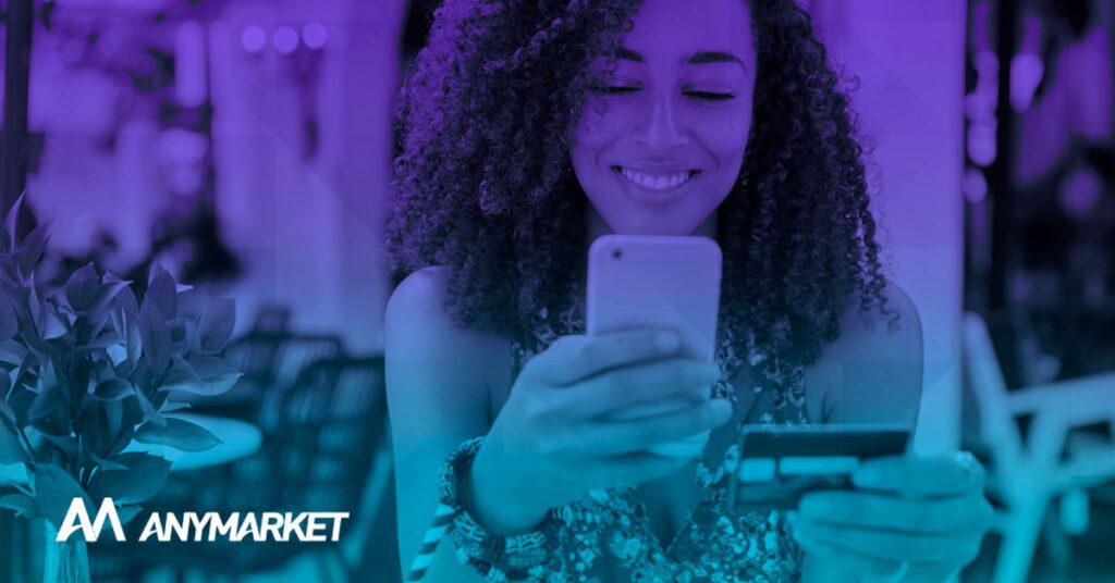 Solução de pagamento para marketplace, no blog ANYMARKET