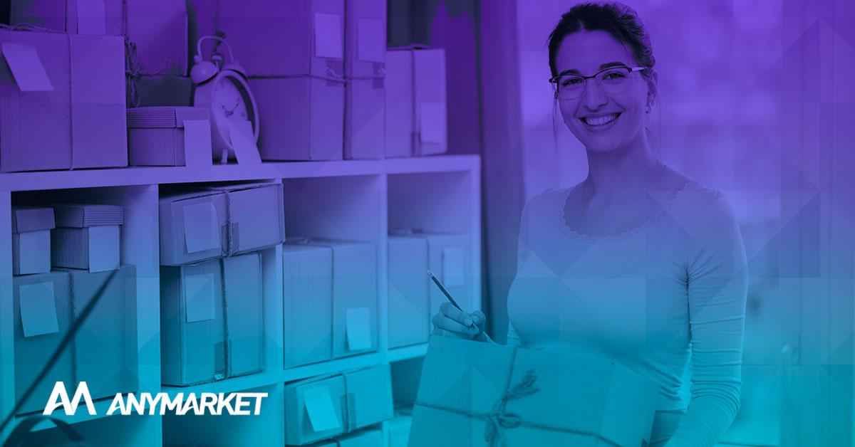 Seller organizando seu e-commerce