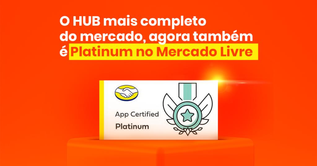 ANYMARKET com o selo platinum no mercado livre