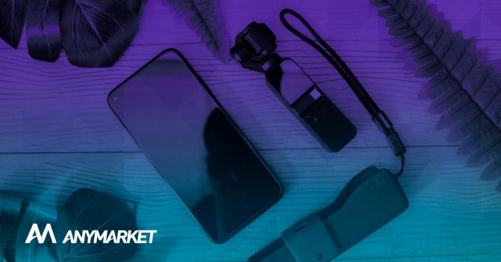 kits de produtos de smartphones