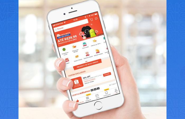 app para vender pela shopee